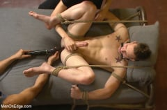 Owen Michaels - Brand new straight stud gets his hard cock edged (Thumb 09)