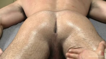 Billy Santoro - Muscled stud strapped down and has his cock milked at the sperm bank