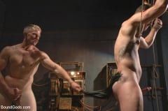 Adam Herst - New captive bound, beaten and electrified (Thumb 21)