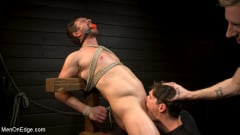 Alex Mecum - KinkMen Presents CONSTRAINED: Athletic Men Bound, Punished, and Edged (Thumb 15)