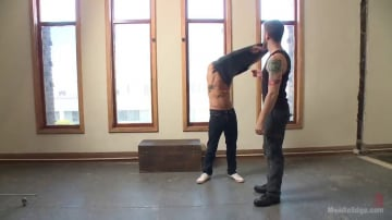 Alexander Gustavo - German Hunk Suspended and Edged