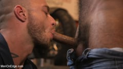 Ali Liam - Hot biker gets edged in the motorcycle garage (Thumb 03)