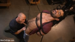 Ali Liam - Hot biker gets edged in the motorcycle garage (Thumb 06)