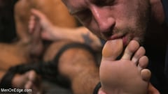 Ali Liam - Hot biker gets edged in the motorcycle garage (Thumb 09)