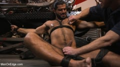 Ali Liam - Hot biker gets edged in the motorcycle garage (Thumb 10)