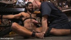 Ali Liam - Hot biker gets edged in the motorcycle garage (Thumb 14)