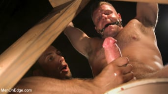 Brian Bonds in 'Built Boy Brian Bonds in Bondage takes Fat Toys, Tickling, Fucksaw'