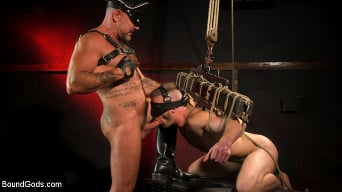 Brian Bonds in 'Pig Whore: Brian Bonds gets beat and worships Daddy Dyer's boots, feet'