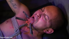 Brodie Ramirez - Alley Cat Slut: New boy Brodie Ramirez gets tormented and fucked (Thumb 02)