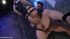 Brodie Ramirez - Alley Cat Slut: New boy Brodie Ramirez gets tormented and fucked (Thumb 07)