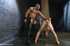 CJ Madison - CJ Madison returns with a tight chain around his boy's neck. (Thumb 03)
