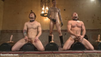 Christian Wilde in 'Bound Gods Live: New House Slaves Tested by the Kink Olympics'