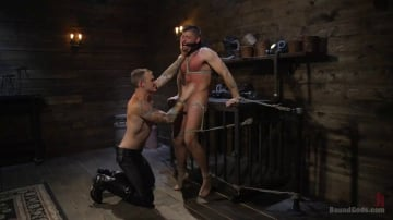 Christian Wilde - Huge-Dicked Sub Jack Andy Gets An Intense Beating From Christian Wilde