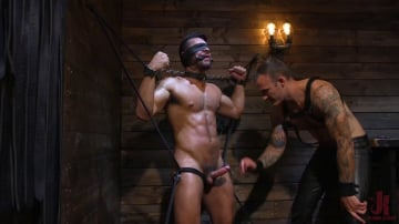 Christian Wilde - Submissive Seth Santoro Suffers For Christian Wilde