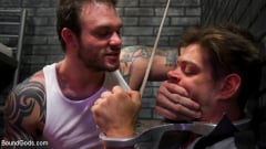 Cliff Jensen - Bad boy inmate Cliff Jensen breaks in new guard Michael DelRay (Thumb 10)