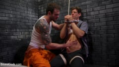 Cliff Jensen - Bad boy inmate Cliff Jensen breaks in new guard Michael DelRay (Thumb 15)