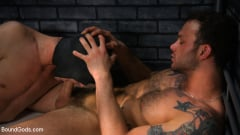 Cliff Jensen - Muscle stud Cliff Jensen lays claim to prison bitch Tony Orlando (Thumb 02)
