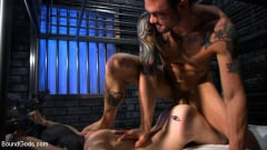Cliff Jensen - Muscle stud Cliff Jensen lays claim to prison bitch Tony Orlando (Thumb 03)