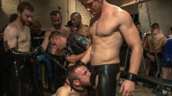 Cody Allen in 'BIP First Anual Rubber Party!'