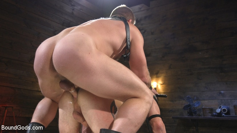 Kink Men 'Newcomer Sean Maygers Gets Bound and Fucked By Huge Stud Colby Jansen' starring Colby Jansen (photo 21)