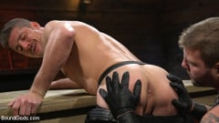 Colby Jansen - Newcomer Sean Maygers Gets Bound and Fucked By Huge Stud Colby Jansen (Thumb 01)