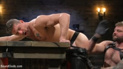 Colby Jansen - Newcomer Sean Maygers Gets Bound and Fucked By Huge Stud Colby Jansen (Thumb 03)