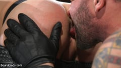 Colby Jansen - Newcomer Sean Maygers Gets Bound and Fucked By Huge Stud Colby Jansen (Thumb 04)