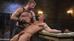 Colby Jansen - Newcomer Sean Maygers Gets Bound and Fucked By Huge Stud Colby Jansen (Thumb 07)