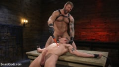 Colby Jansen - Newcomer Sean Maygers Gets Bound and Fucked By Huge Stud Colby Jansen (Thumb 09)