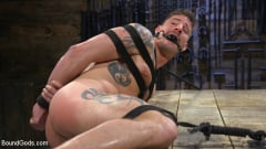 Colby Jansen - Newcomer Sean Maygers Gets Bound and Fucked By Huge Stud Colby Jansen (Thumb 11)