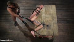 Colby Jansen - Newcomer Sean Maygers Gets Bound and Fucked By Huge Stud Colby Jansen (Thumb 12)