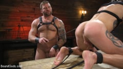 Colby Jansen - Newcomer Sean Maygers Gets Bound and Fucked By Huge Stud Colby Jansen (Thumb 14)
