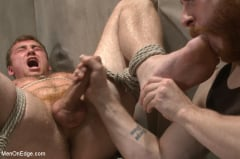Connor Maguire - Officer Maguire edged and gets an electric buttplug for the first time (Thumb 06)