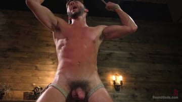 Dakota Rivers - Horny Sub is Tormented With the Fucksaw and Hot Wax Pendulums!