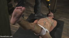 Dakota Rivers - Horny Sub is Tormented With the Fucksaw and Hot Wax Pendulums! (Thumb 04)