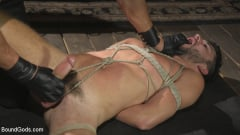 Dakota Rivers - Horny Sub is Tormented With the Fucksaw and Hot Wax Pendulums! (Thumb 05)