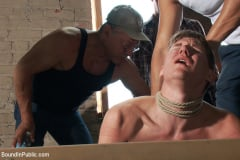Dakota Wolfe - Hazing the brand new boy in front of a crowd - CMNM style (Thumb 04)
