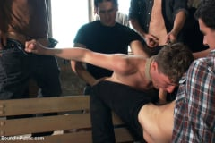 Dakota Wolfe - Hazing the brand new boy in front of a crowd - CMNM style (Thumb 06)