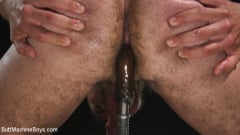 David Emblem - Anal Slave Shocks and Machine Fucks His Greedy Hole (Thumb 12)