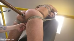David Emblem - Helpless David Emblem Gets Bound, Suspended, and Edged Repeatedly (Thumb 04)