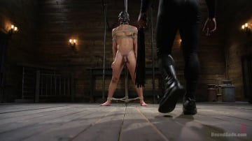Dominic Pacifico - Bronze Submissive God Ian Greene gets Brutally Beaten and Fucked Senseless by Hung Stud