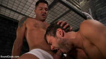 Dominic Pacifico in 'Hard Up Hole: Max Adonis gives up holes for protection'