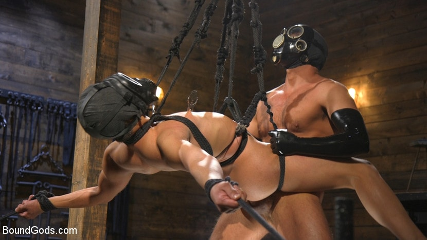 Kink Men 'Matt Anthony Takes A Beating And A Fucking In Full Suspension' starring Dominic Pacifico (photo 14)