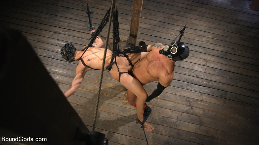 Kink Men 'Matt Anthony Takes A Beating And A Fucking In Full Suspension' starring Dominic Pacifico (photo 18)