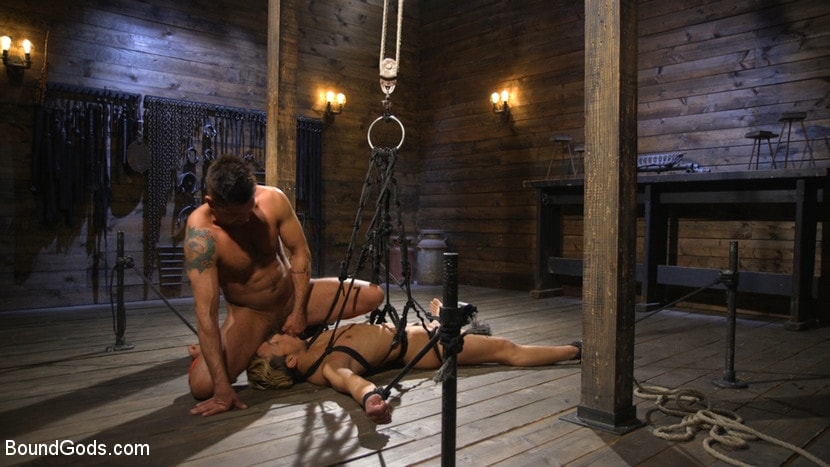 Kink Men 'Matt Anthony Takes A Beating And A Fucking In Full Suspension' starring Dominic Pacifico (photo 24)