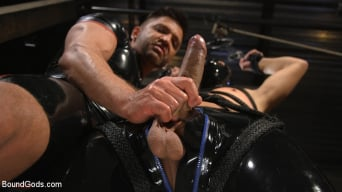 Dominic Pacifico in 'Matt Anthony Takes A Beating And A Fucking In Full Suspension'