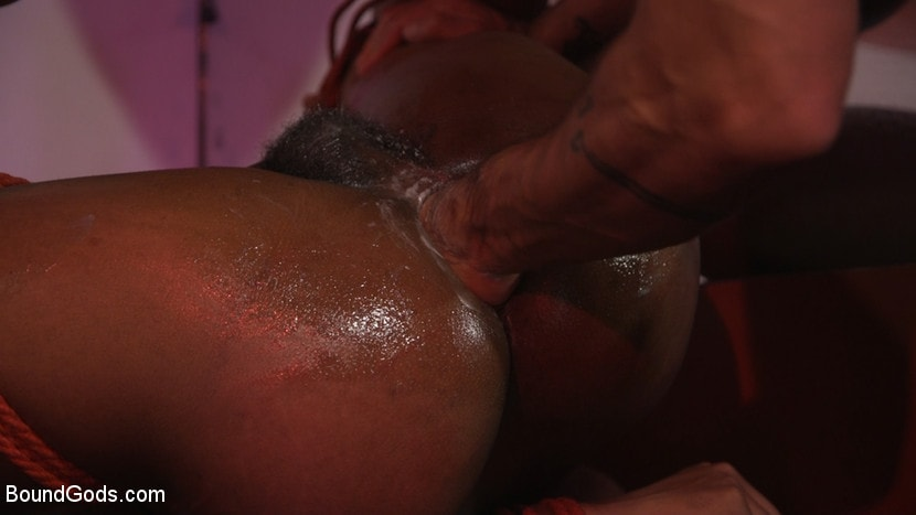 Kink Men 'New meat Alson Caramel fisted and fucked for HustlaBall!' starring Dominic Pacifico (photo 12)
