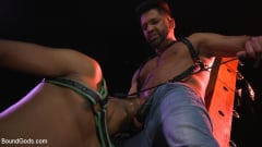 Dominic Pacifico - New meat Alson Caramel fisted and fucked for HustlaBall! (Thumb 06)