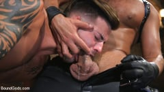 Dominic Pacifico - Submissive Stud Casey Everett gets Tied Up and Machine Fucked by a God (Thumb 02)