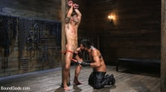 Dominic Pacifico - Submissive Stud Casey Everett gets Tied Up and Machine Fucked by a God (Thumb 04)
